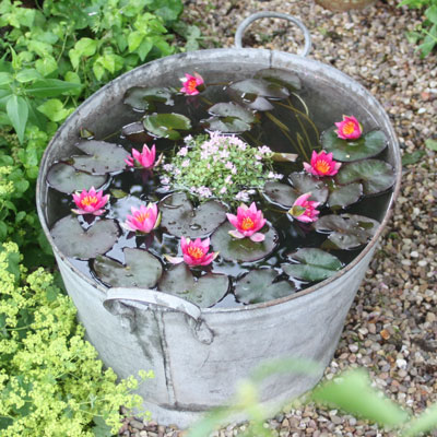 how to create drainage in a pot without holes
