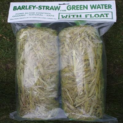 Barleystraw minibales for larger water volumes