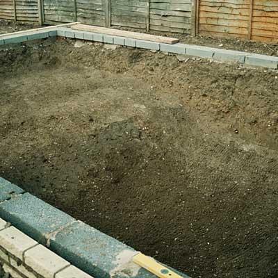Build a pond   Construct a formal garden pond   Waterside