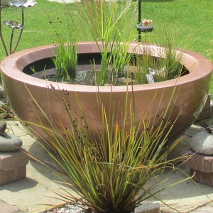 80cm container pond in Light Copper