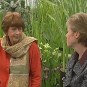 Pam Ayres meets Waterside Nursery