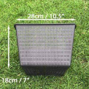 28cm square mesh basket